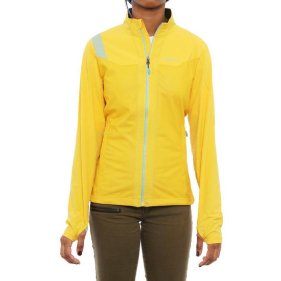 Softshell Fabric with Mesh Lining for Women Outdoor Jackets