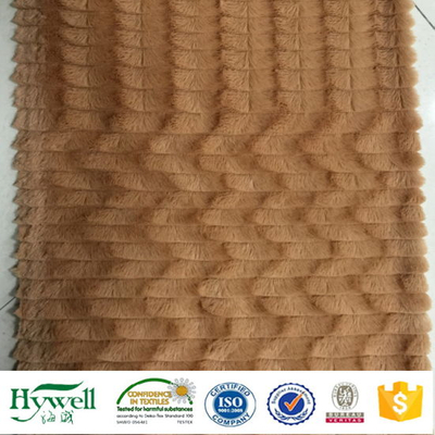 100% Polyester Fabric PV Plush