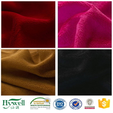 Velboa Plush Fur Polyester Knitted Fabric