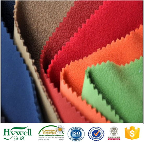 3 Layers Waterproof Softshell Fabric with Polar Fleece Lining for Jacket