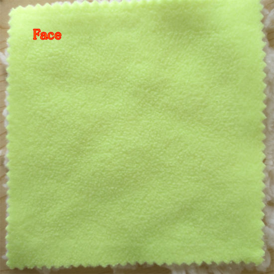 100% Polyester Polar Fleece with Sherpa Fabric Lining