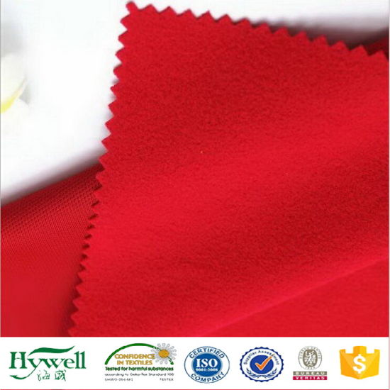 100% Polyester Tricot Brush School Uniform Fabric